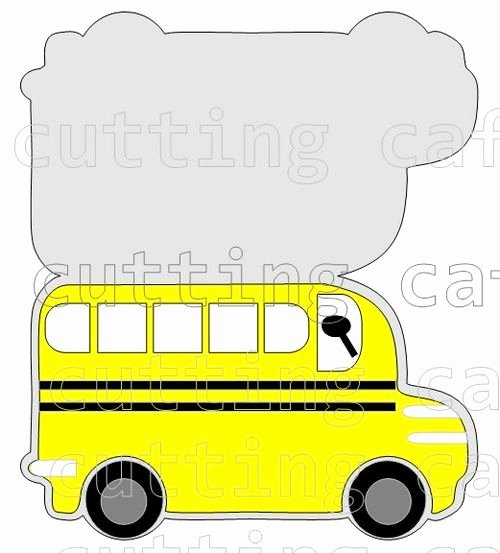 School Emergency Card Template Elegant Bus Shaped Card School Bus Drivers