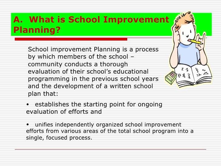 School Improvement Planning Templates Elegant School Improvement Plan