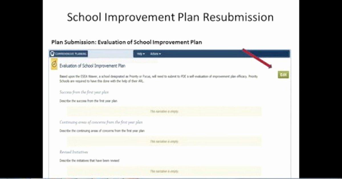 School Improvement Planning Templates Fresh the Cp Tip Jar
