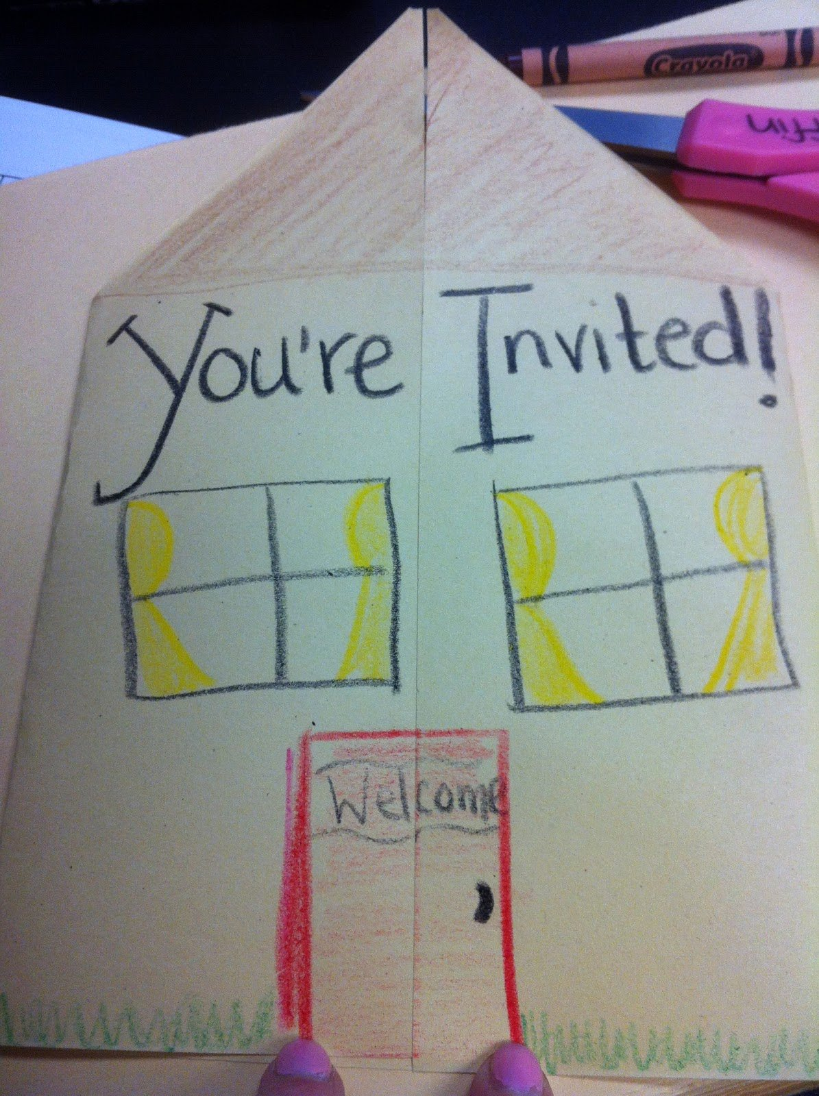 School Open House Invite Lovely Fantastic First March 2012