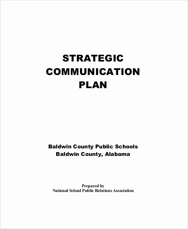 School Strategic Plan Template Beautiful 39 Strategic Plan Templates In Pdf