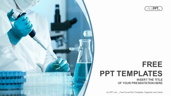Science Power Point Template Awesome Scientific Researcher In Medical Powerpoint Templates