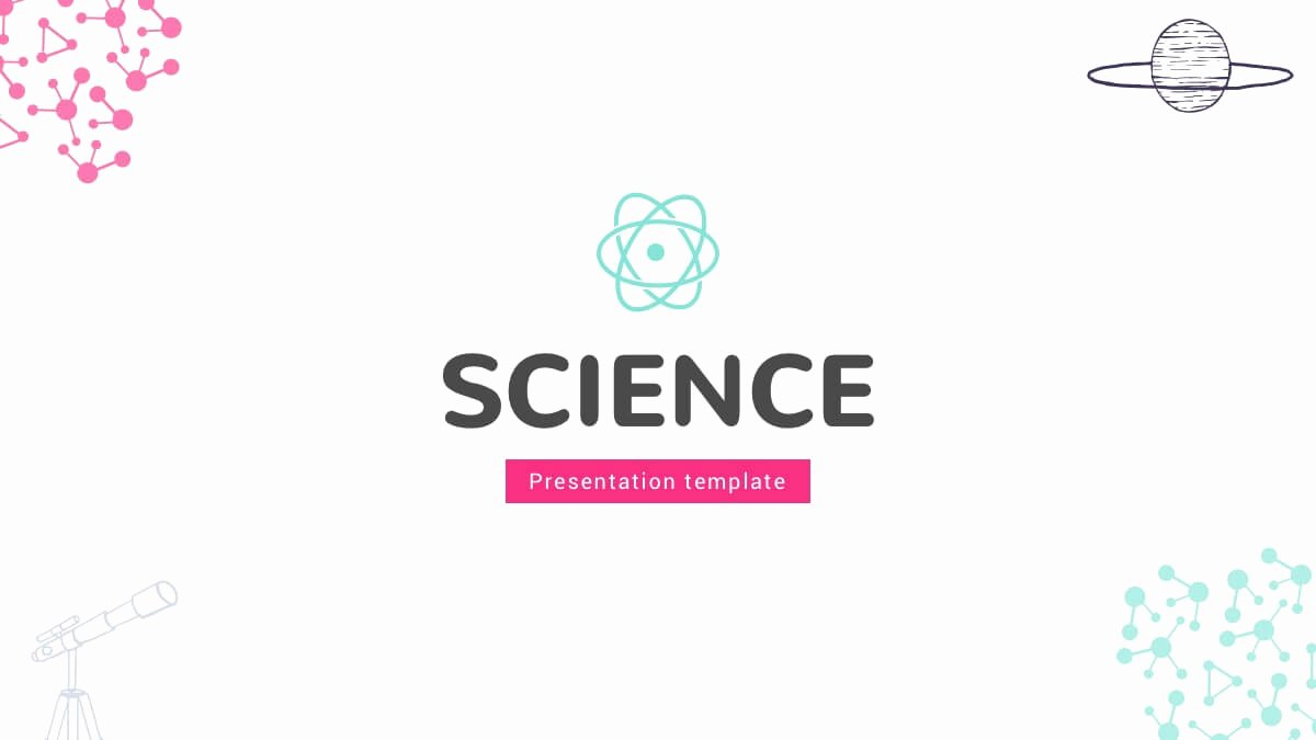 Science Power Point Template Beautiful Free Science Powerpoint Template