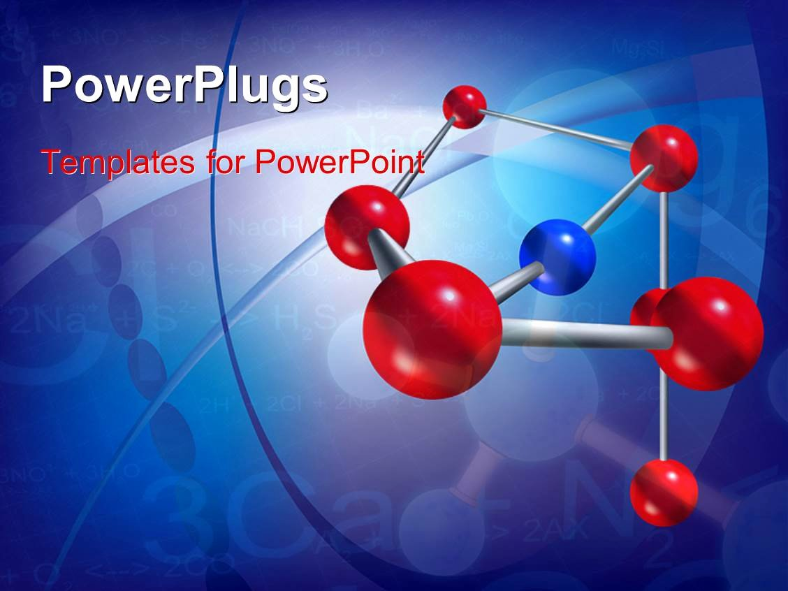 Science Power Point Templates Awesome Powerpoint Template Abstract Scientific Background with Molecule Structure and Chemical
