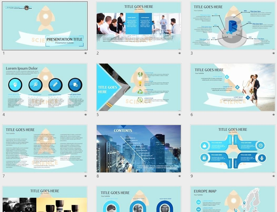 Science Power Point Templates Inspirational Science Powerpoint Template Sagefox Free Powerpoint Templates