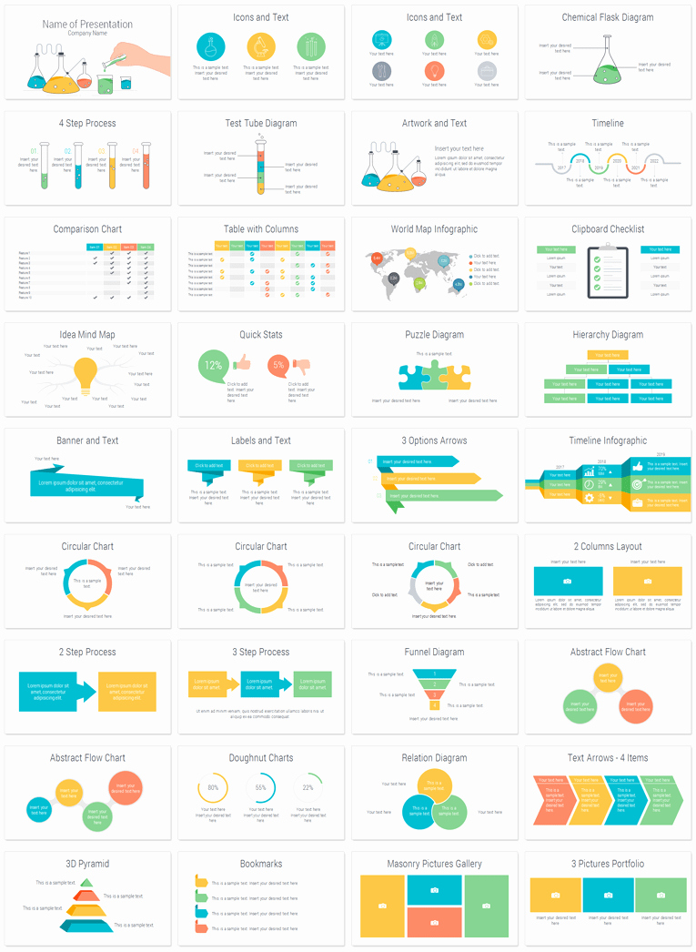 Science Power Point Templates Lovely Science Powerpoint Template Presentationdeck