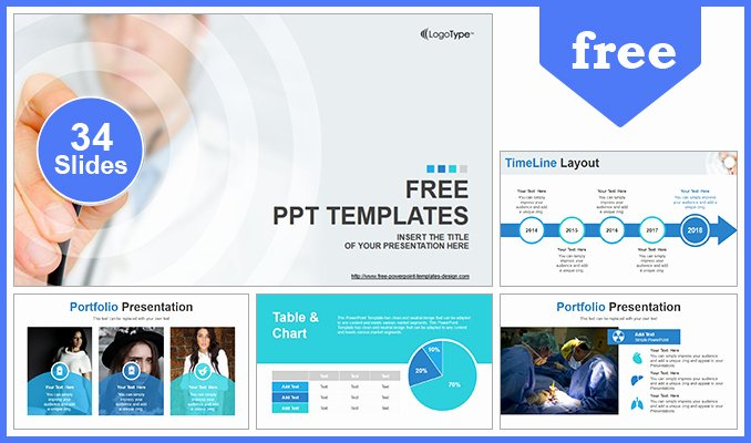 Science Power Point Templates New Scientific Researcher Medical Powerpoint Template