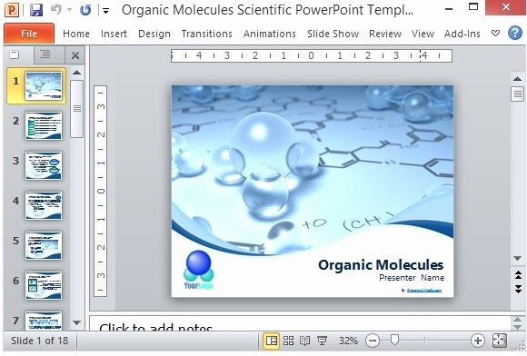 Scientific Presentation Powerpoint Template New Science Presentation Powerpoint Template
