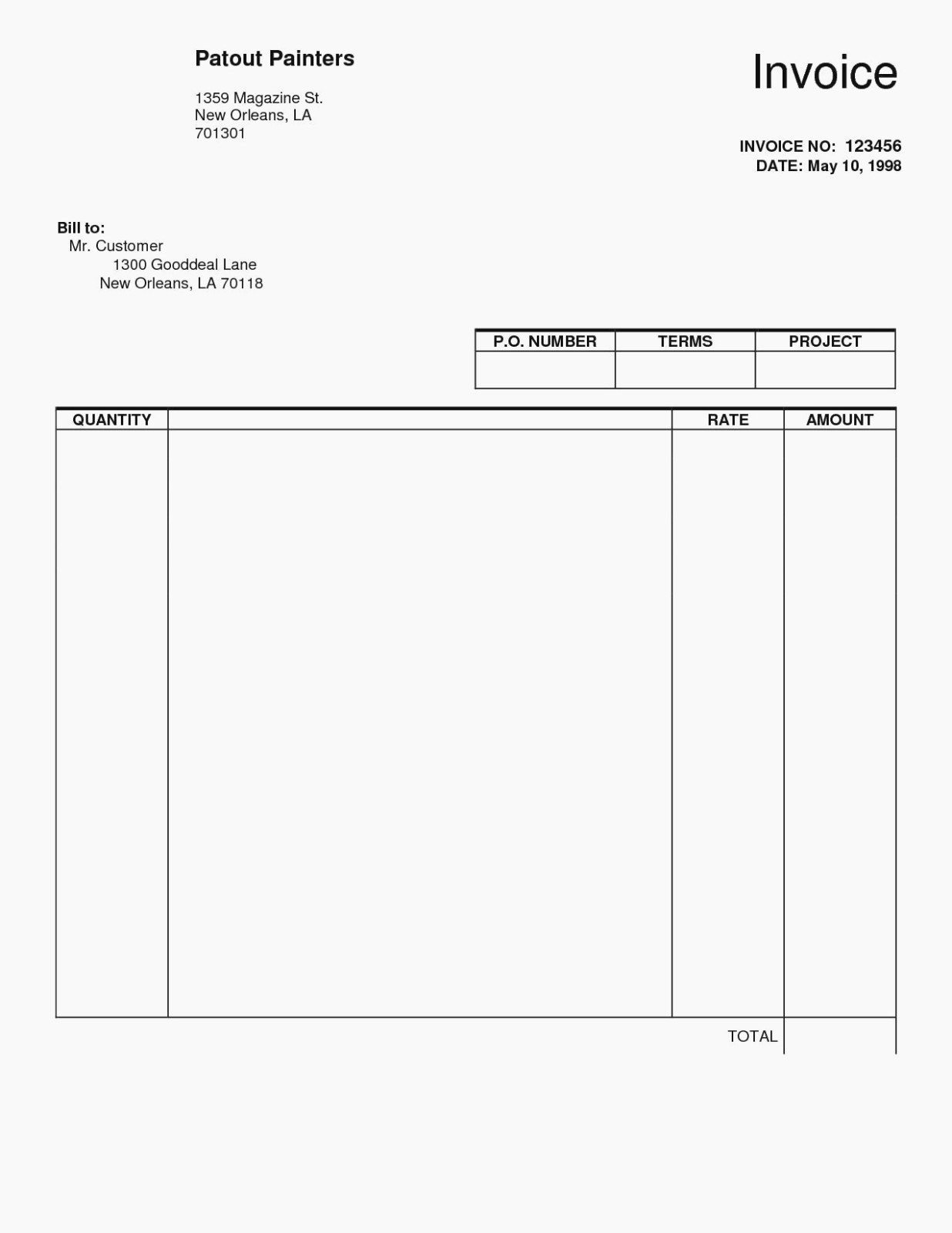 Self Employed Invoice Template New 15 Things You Won T Miss