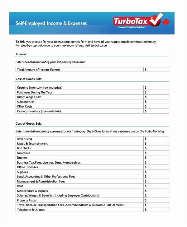 Self Employment Verification form Inspirational Free 10 Sample Self Employment forms In Pdf