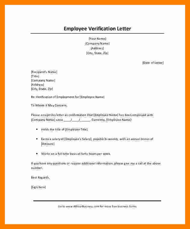 Self Employment Verification form Luxury 8 Salary Confirmation Letter Request