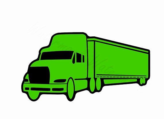 Semi Truck Logos Free Beautiful Semi Silhouette at Getdrawings