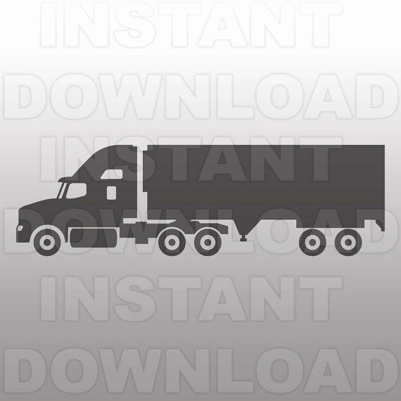 Semi Truck Logos Free Best Of Semi Truck Svg File Truck Svg Cutting Template Vector Clip Art for Mercial & Personal Use