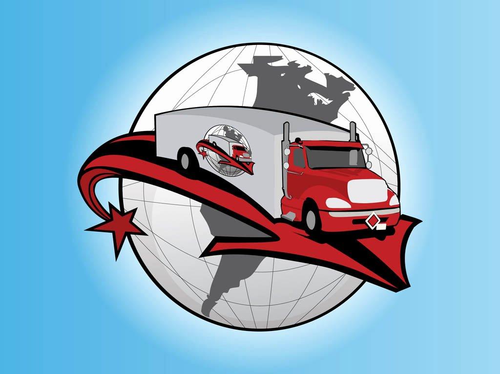 Semi Truck Logos Free Fresh Truck Logo Free Vectors