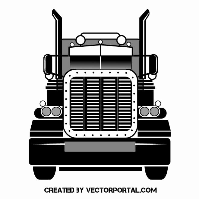 Semi Truck Logos Free Inspirational Big Rig Vector Graphics Various Vectors