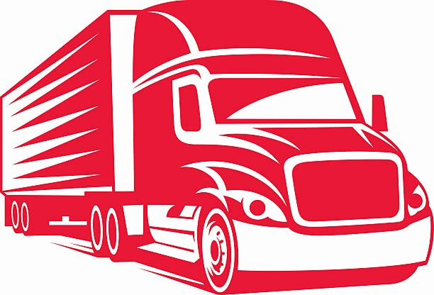 Semi Truck Logos Free Inspirational Royalty Free Semi Truck Clip Art Vector & Illustrations istock