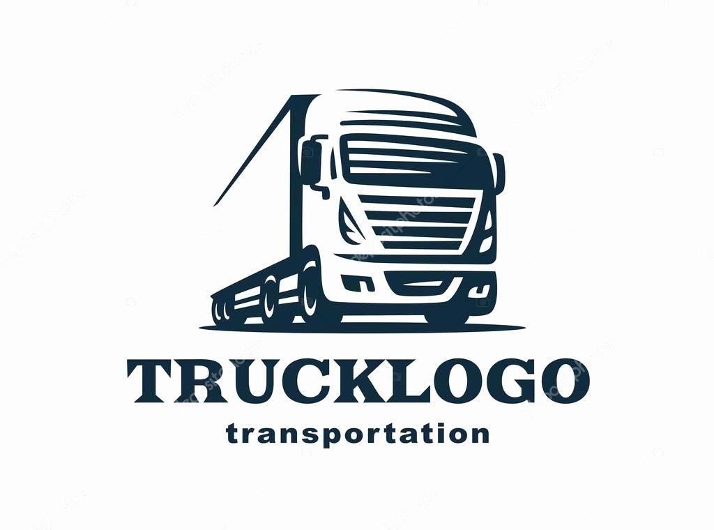 Semi Truck Logos Free Lovely Logo Truck and Trailer — Stock Vector © sodesignby
