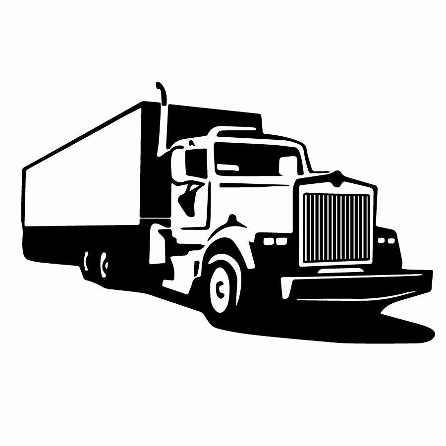 Semi Truck Logos Free Unique Free Truck Svg Cut File