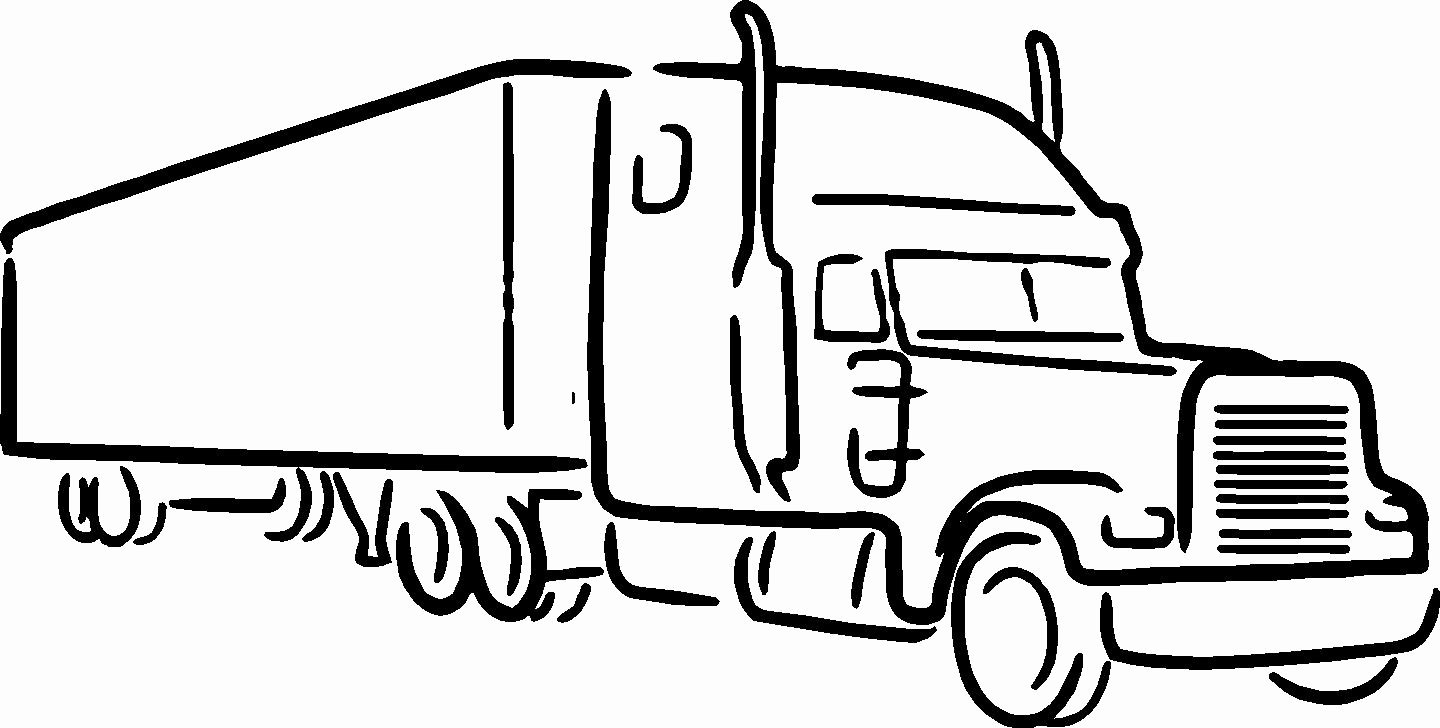 Semi Truck Logos Free Unique Semi Truck Clipart Black and White – 101 Clip Art