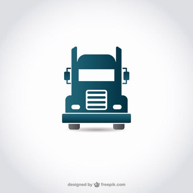 Semi Truck Logos Free Unique Truck Icon Vector
