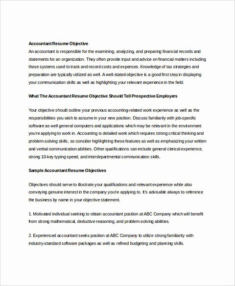 Senior Accountant Resume Sample Awesome Perfect Accounts Receivable Resume to Get Hired Immediately
