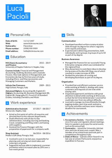 Senior Accountant Resume Sample Inspirational Resume Examples by Real People Senior Accountant Resume Sample