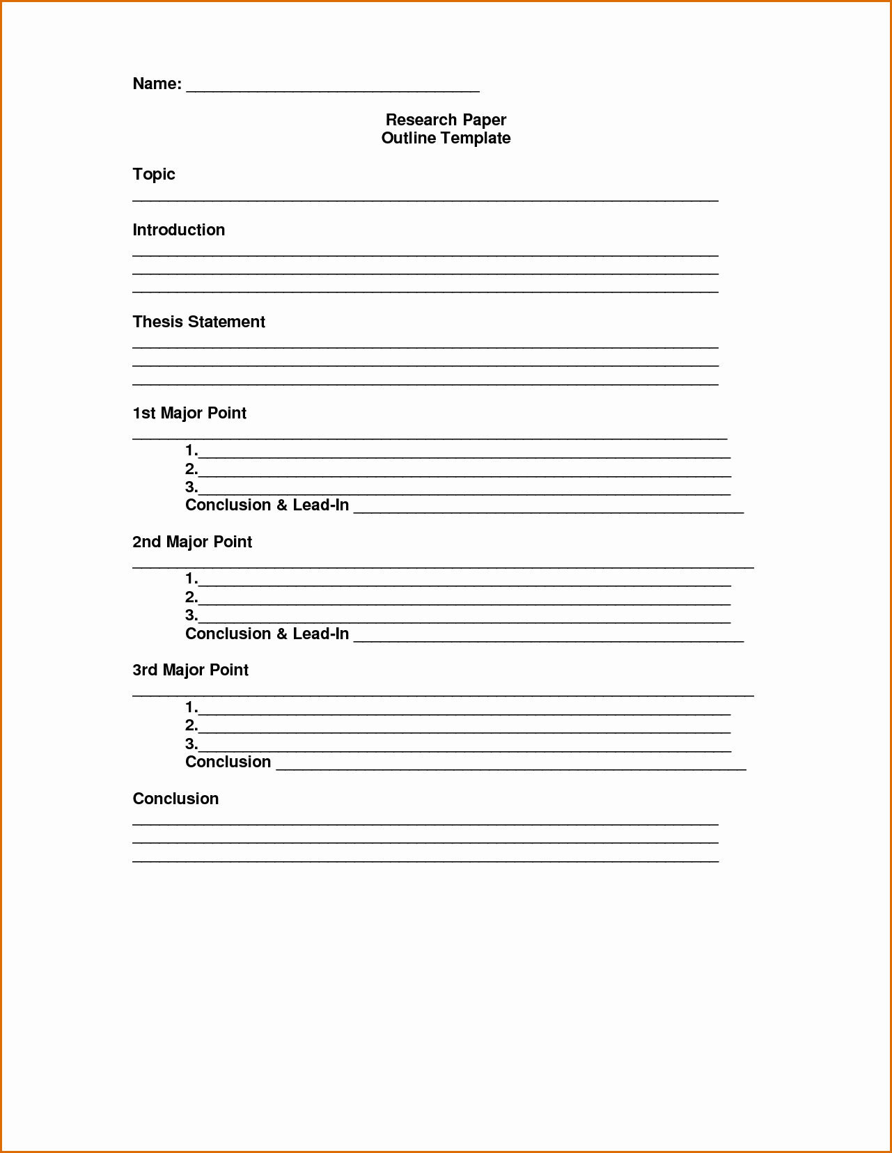 Sermon Outline Template Microsoft Word Unique 8 Essay Outline Template