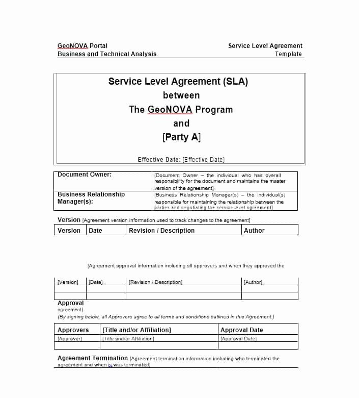 Service Agreement Template Doc Luxury 50 Professional Service Agreement Templates & Contracts
