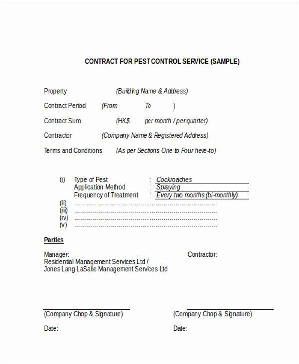 Service Contract Template Doc Beautiful Service Contract Template Doc – Emmamcintyrephotography