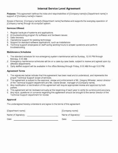 Service Contract Template Doc Luxury 31 Sample Agreement Templates In Microsoft Word