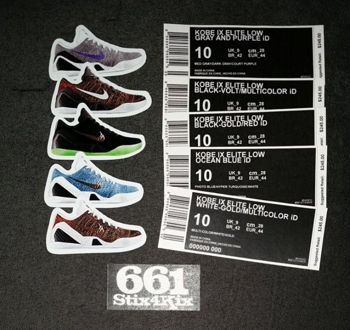 Shoe Box Label Template Unique Custom Nike Id Shoebox Label 661stix4kix