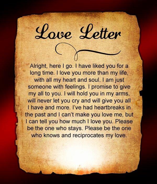 Short Love Letter for Gf Unique Love Letters for Him 38 Love Letters for Him Pinterest