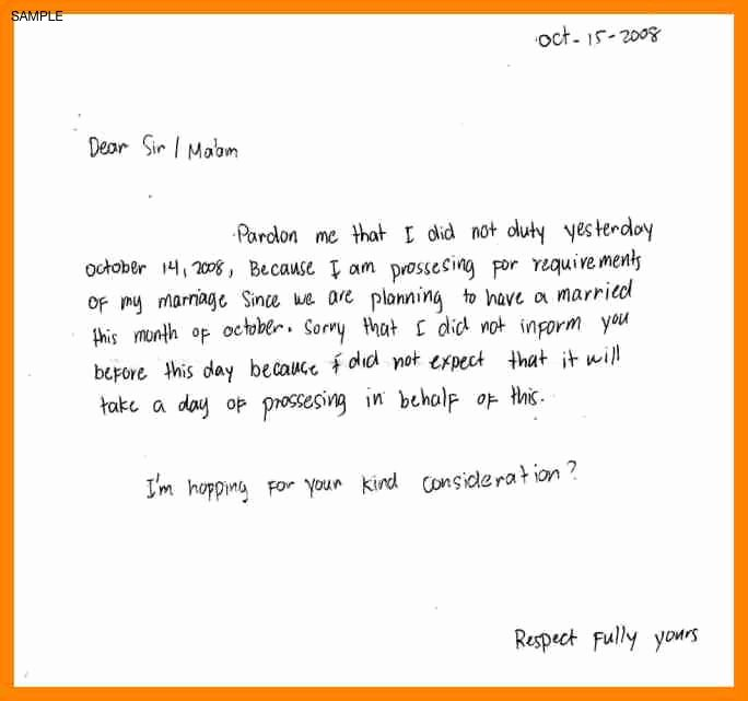 Sick Note for School Example Beautiful Excuse Letter Sick Daughter – Platte Sunga Zette