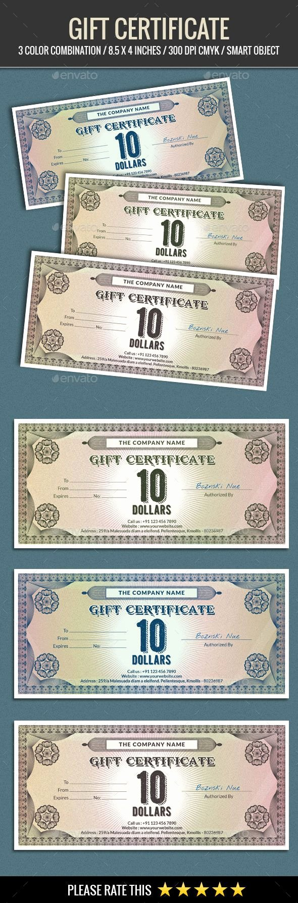 Silent Auction Certificate Template Awesome Best 25 Gift Certificates Ideas On Pinterest