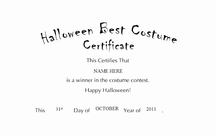 Silent Auction Certificate Template Awesome Halloween Silent Auction Bid Sheet