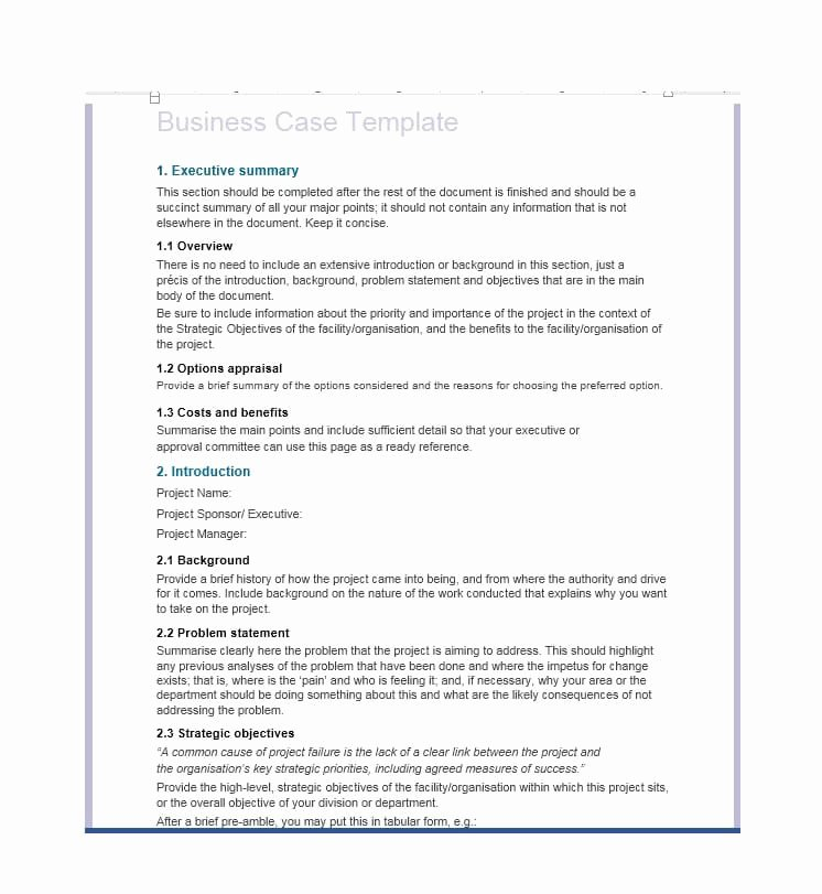 Simple Business Case Example Inspirational 30 Simple Business Case Templates & Examples Template Lab