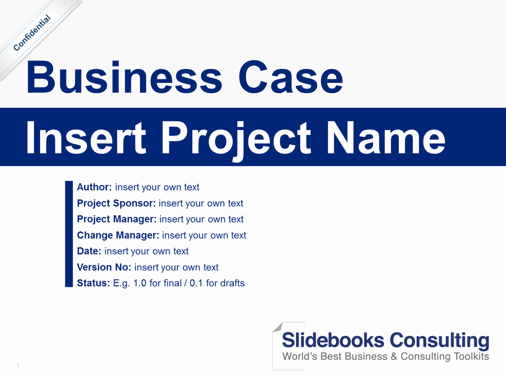 Simple Business Case Example New Download A Simple Business Case Template