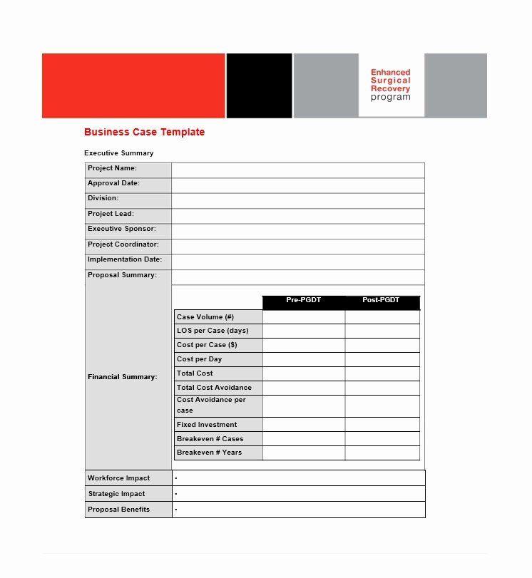 Simple Business Case Template Elegant 30 Simple Business Case Templates & Examples Template Lab