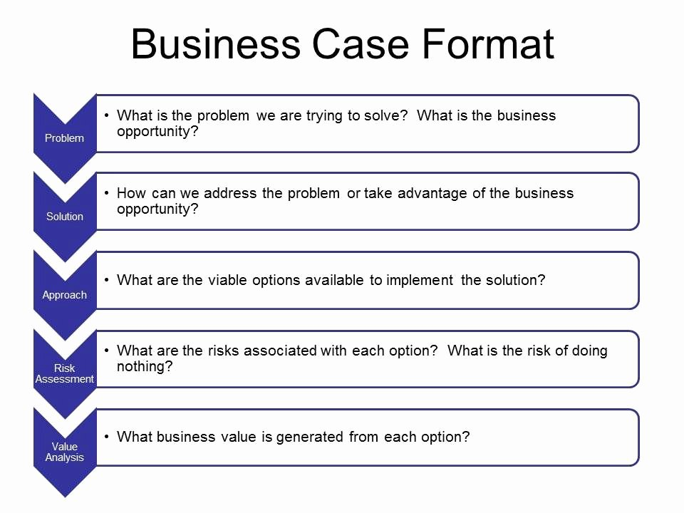 Simple Business Case Template Fresh Business Case Template In Word