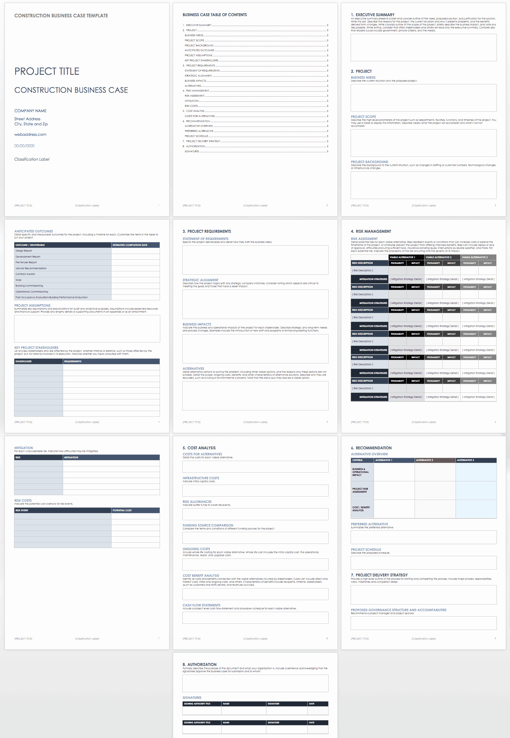 Simple Business Case Templates Best Of Free Business Case Templates