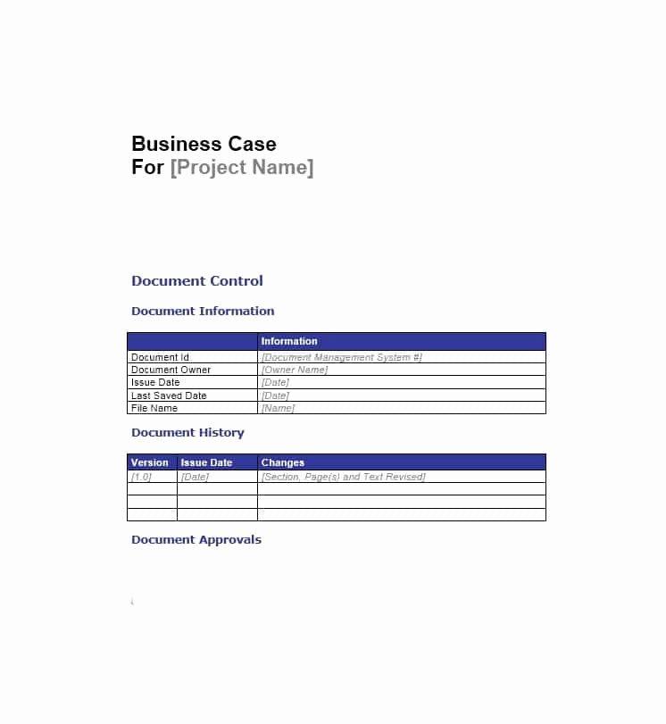 Simple Business Case Templates Unique 30 Simple Business Case Templates & Examples Template Lab