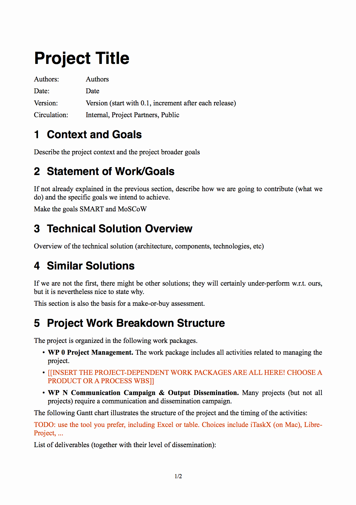 Simple Project Scope Template Best Of An Introduction to software Project Management