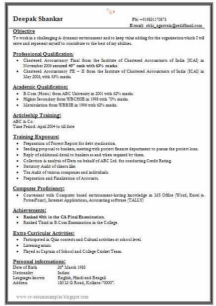 Simple Resume format for Freshers New Over Cv and Resume Samples with Free Download E Page Fresher Resume format for All