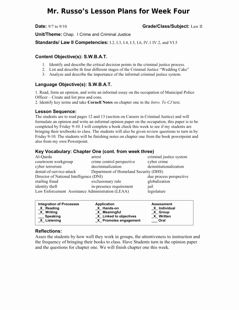 Siop Lesson Plan Template 1 New Siop Lesson Plan Template 1