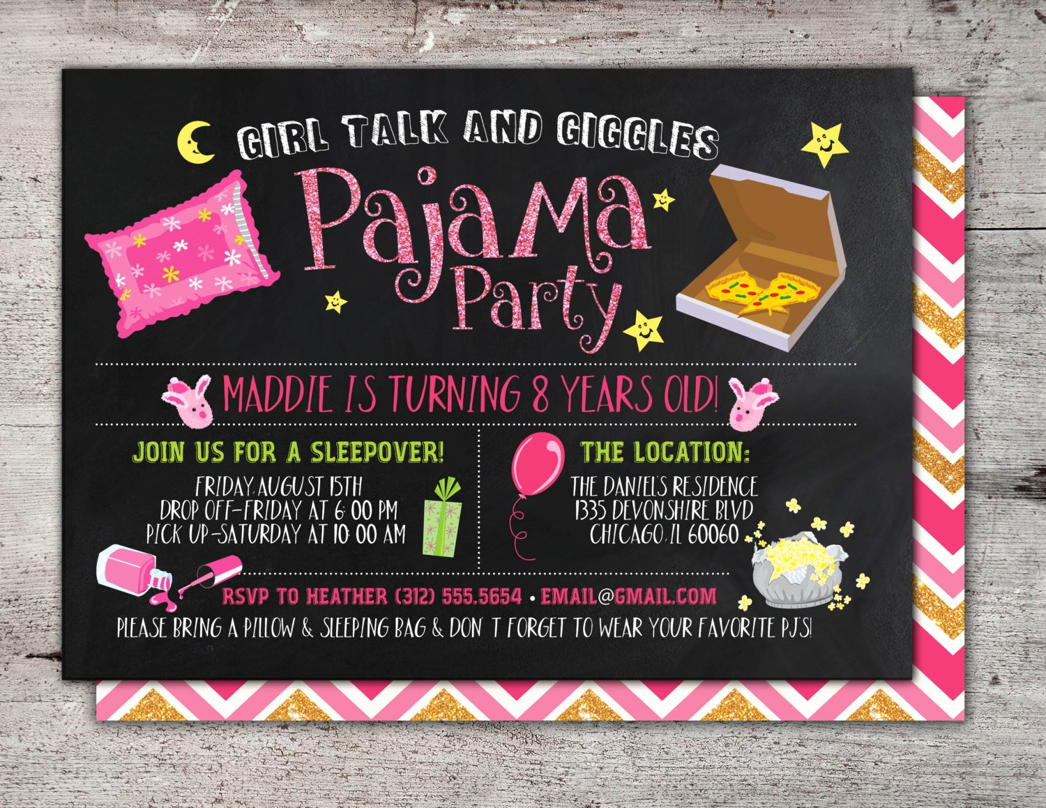Slumber Party Invitations Templates Free Best Of Adult Slumber Party Invitations