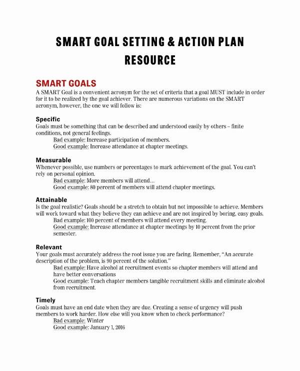Smart Action Plans Template Fresh 11 Smart Action Plan Templates Pdf Word