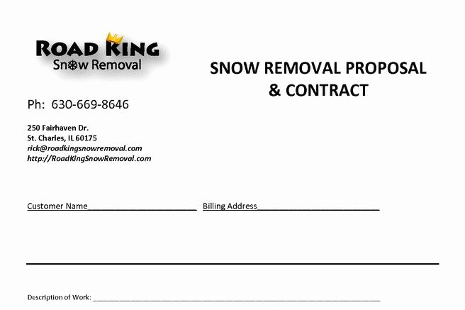 Snow Plow Contract Sample New 20 Snow Plowing Contract Templates Free Download