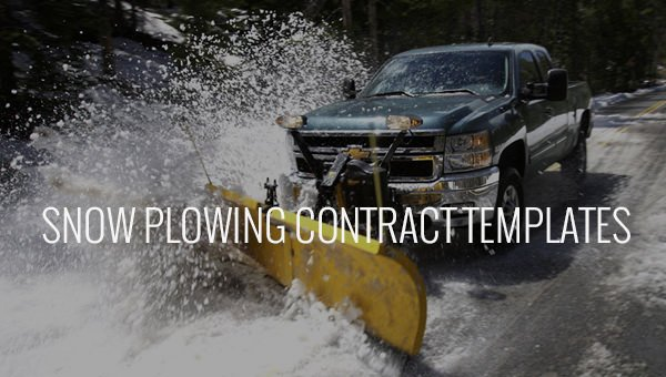 Snow Removal Contract Templates Luxury 20 Snow Plowing Contract Templates Google Docs Pdf Word Apple Pages