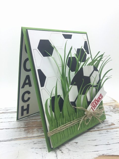 Soccer Thank You Cards Inspirational Pinkblingcrafter A soccer Ball Thank You Card for Coach