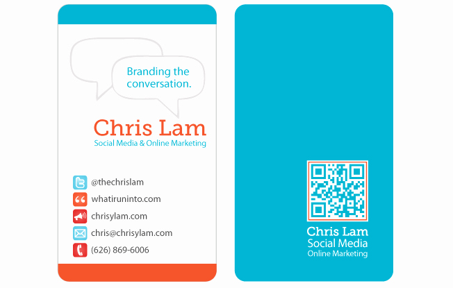 Social Media Business Card Luxury social Media Business Cards Samples and Design Ideas